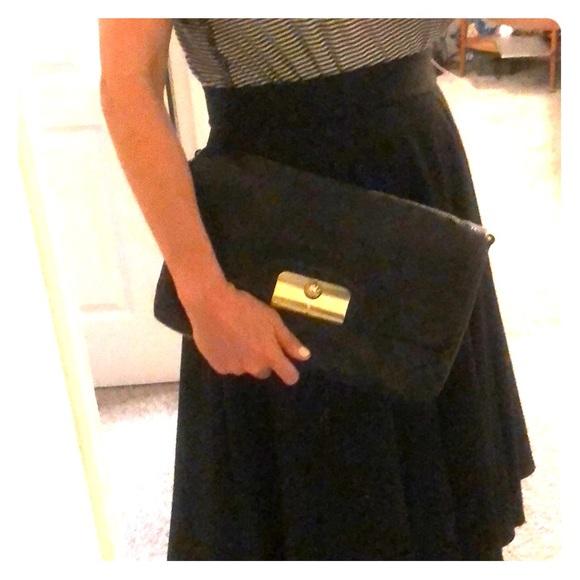 Coach Handbags - COACH | Leather Kristin Chain Link Shoulder Bag